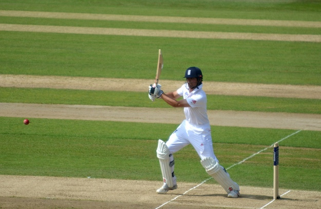 Alastair Cook at Trent Bridge during the 2013 Ashes (Image courtesy of http://www.flickr.com/photos/somethingness)